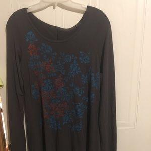 Supermaggie hemp long sleeve shirt size medium